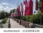 the old city wall | Shutterstock . vector #1132858130