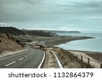 countryside road with amazing ...   Shutterstock . vector #1132864379