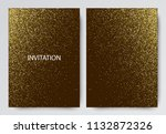 vector holiday template with... | Shutterstock .eps vector #1132872326