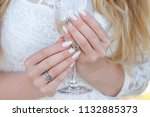 hands of young caucasian woman...   Shutterstock . vector #1132885373