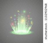 magic portal of fantasy.... | Shutterstock .eps vector #1132902968