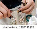 close up of the hand of the... | Shutterstock . vector #1132912976
