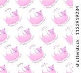vector seamless slanted pattern ...   Shutterstock .eps vector #1132919234