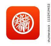 asian salad icon digital red... | Shutterstock . vector #1132919453