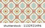 talavera pattern.  azulejos... | Shutterstock .eps vector #1132921496