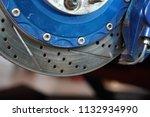 race car's disc brake   high... | Shutterstock . vector #1132934990