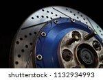 race car's disc brake   high... | Shutterstock . vector #1132934993