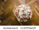 colorful isolated bridal... | Shutterstock . vector #1132956629