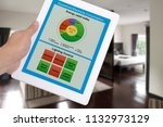household electricity... | Shutterstock . vector #1132973129