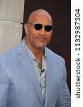 new york   jun 10  actor dwayne ... | Shutterstock . vector #1132987304