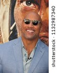 new york   jun 10  actor dwayne ... | Shutterstock . vector #1132987340
