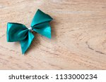 green bow  christmas decoration ... | Shutterstock . vector #1133000234