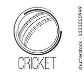 abstract cricket label   Shutterstock .eps vector #1133020949