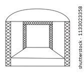 abstracct cinema symbol | Shutterstock .eps vector #1133023358