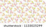 floral seamless background for... | Shutterstock .eps vector #1133025299