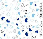 light blue vector seamless... | Shutterstock .eps vector #1133029484