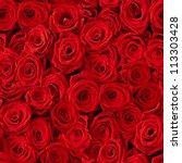 Plenty Red Natural Roses...