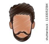 man faceless cartoon scribble   Shutterstock .eps vector #1133052584