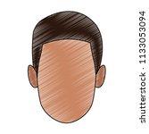man faceless cartoon scribble   Shutterstock .eps vector #1133053094