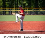 Youth Baseball Pitcher