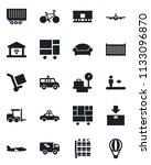 set of vector isolated black...   Shutterstock .eps vector #1133096870
