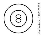 billiard snooker game    Shutterstock .eps vector #1133105093