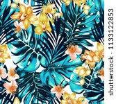seamless bright high contrast... | Shutterstock . vector #1133122853
