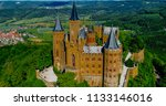 aerial view of famous... | Shutterstock . vector #1133146016