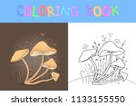 children's coloring book with...   Shutterstock .eps vector #1133155550
