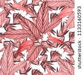 watercolor seamless pattern... | Shutterstock . vector #1133160593