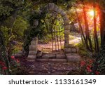 Magical Gate Doorway Path In A...