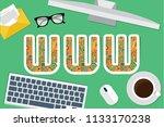 www concept vector design | Shutterstock .eps vector #1133170238