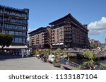 old port oslo. view of the aker ... | Shutterstock . vector #1133187104