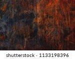 corten steel texture ... | Shutterstock . vector #1133198396