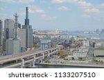 kobe city hyogo prefecture ... | Shutterstock . vector #1133207510