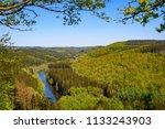 semois river  bouillon ... | Shutterstock . vector #1133243903