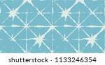 tie dye ornament  turquoise... | Shutterstock .eps vector #1133246354