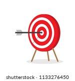 vector illustration red white... | Shutterstock .eps vector #1133276450