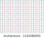 abstract texture   colorful... | Shutterstock . vector #1133280050