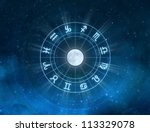 zodiac signs   new age... | Shutterstock . vector #113329078