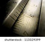 precision measurement tool | Shutterstock . vector #113329399