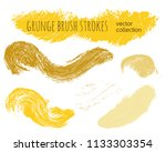paint lines grunge collection.... | Shutterstock .eps vector #1133303354