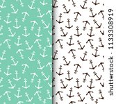 seamless vector pattern with... | Shutterstock .eps vector #1133308919