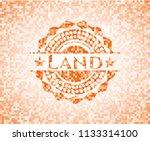 land abstract orange mosaic... | Shutterstock .eps vector #1133314100
