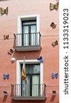 figueres  spain   august 12 ...   Shutterstock . vector #1133319023