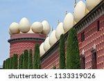 figueres  spain   august 12 ... | Shutterstock . vector #1133319026