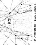geometrical background. modern... | Shutterstock .eps vector #1133320016