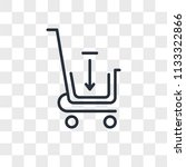 add cart vector icon isolated...   Shutterstock .eps vector #1133322866