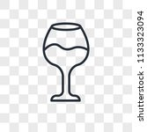 beverage vector icon isolated... | Shutterstock .eps vector #1133323094