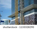 construction and winch | Shutterstock . vector #1133328290